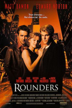 Rounders movie poster.