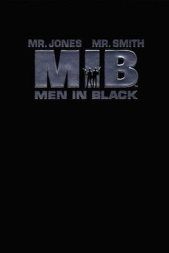 Men in Black movie poster.