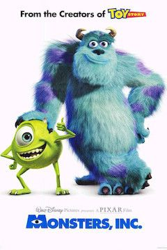 Monsters, Inc. movie poster.