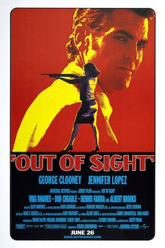 Out of Sight movie poster.