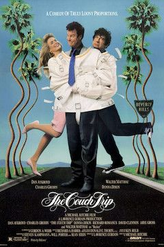 The Couch Trip movie poster.