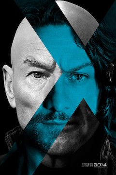 X-Men: Days of Future Past movie poster.