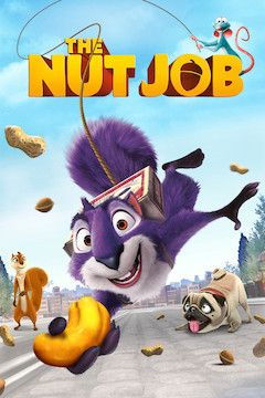 The Nut Job movie poster.