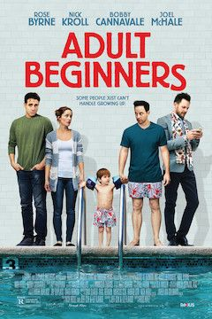 Adult Beginners movie poster.