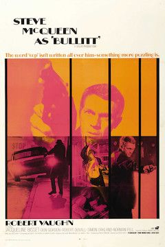 Poster for the movie Bullitt