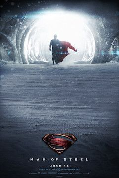 Man of Steel movie poster.