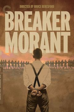 Breaker Morant movie poster.