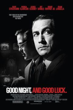 Good Night and Good Luck movie poster.