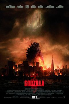 Godzilla movie poster.