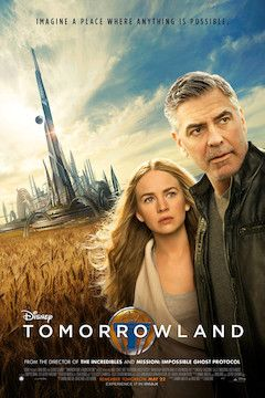 Tomorrowland movie poster.
