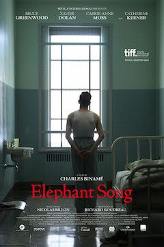Elephant Song movie poster.