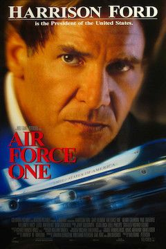Poster for the movie Air Force One