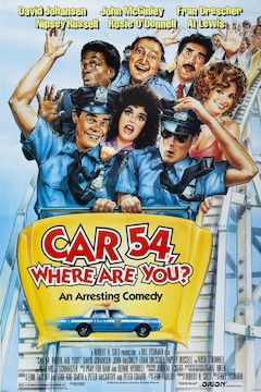 Car 54, Where Are You? movie poster.