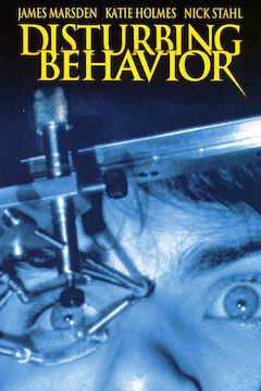 Disturbing Behavior movie poster.