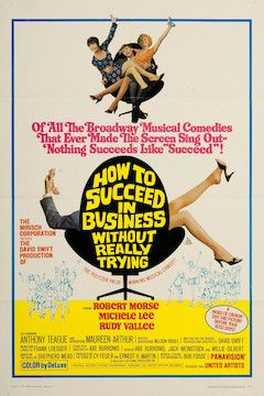 How to Succeed in Business Without Really Trying movie poster.