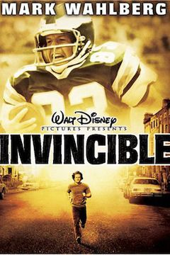 Invincible movie poster.