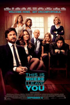 This Is Where I Leave You movie poster.