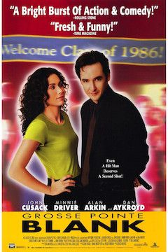 Grosse Pointe Blank movie poster.