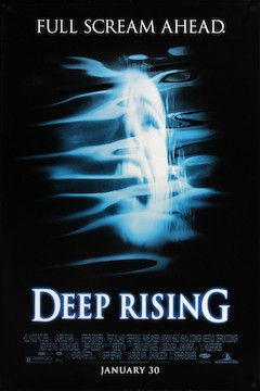 Deep Rising movie poster.
