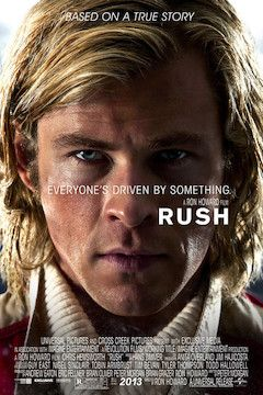 Rush movie poster.
