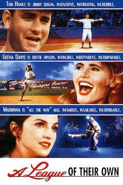 A League of Their Own movie poster.