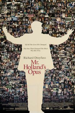 Mr. Holland's Opus movie poster.