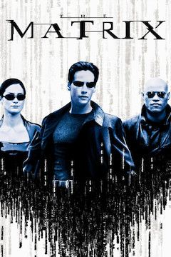 The Matrix movie poster.