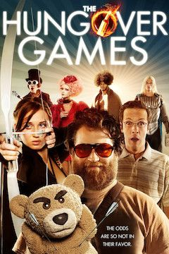 The Hungover Games movie poster.