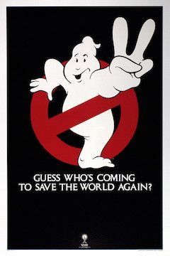 Ghostbusters II movie poster.