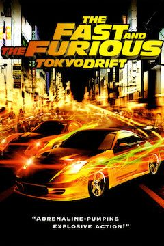 The Fast and the Furious: Tokyo Drift movie poster.