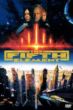 The Fifth Element movie poster.