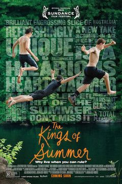 The Kings of Summer movie poster.