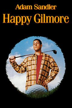 Happy Gilmore movie poster.