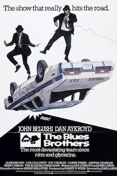 The Blues Brothers movie poster.