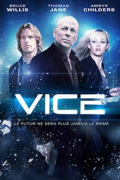 Vice movie poster.