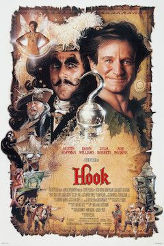 Hook movie poster.