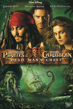 Pirates of the Caribbean: Dead Man's Chest movie poster.