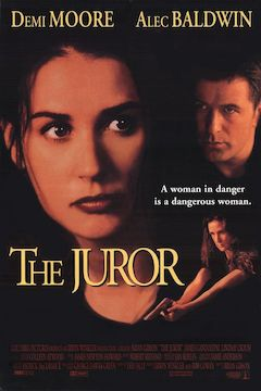 The Juror movie poster.