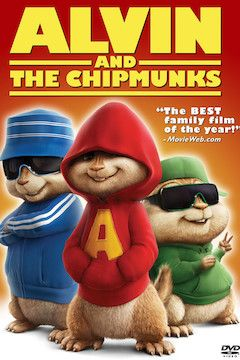 Alvin and the Chipmunks movie poster.