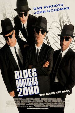 Blues Brothers 2000 movie poster.