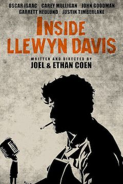 Inside Llewyn Davis movie poster.