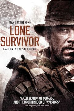 Lone Survivor movie poster.