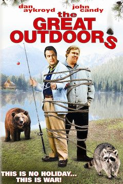 The Great Outdoors movie poster.