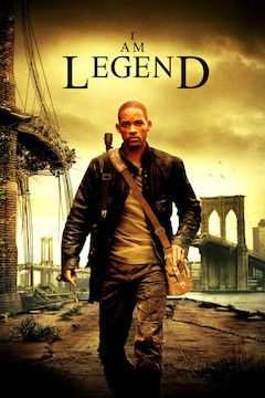 I Am Legend movie poster.