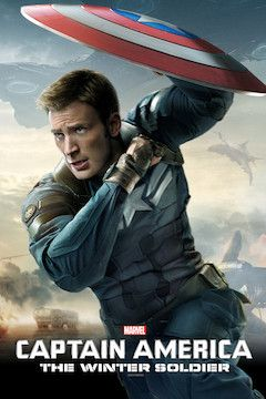 Captain America: The Winter Soldier movie poster.
