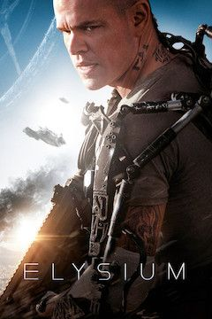 Elysium movie poster.