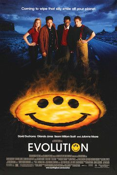 Evolution movie poster.
