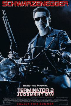Terminator 2: Judgment Day movie poster.
