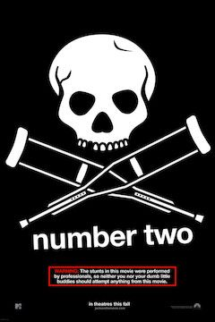 Jackass Number Two movie poster.