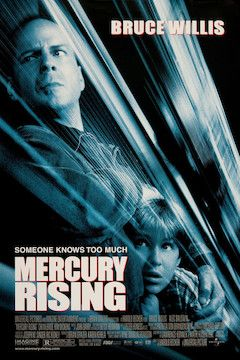 Mercury Rising movie poster.